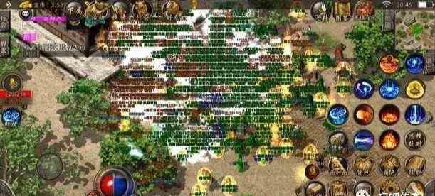酒鬼传奇中180一至六区三方混战决战沙城之巅