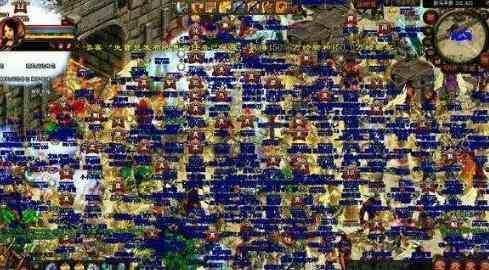 新超变态传奇手游的地图揭密•第一关外美景篇